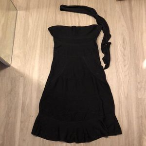 Christian Dior strapless dress 100% silk size 6